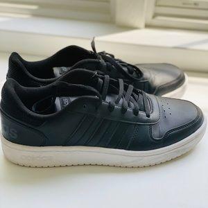 Adidas Matte Black Sneakers